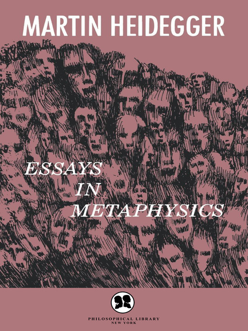 essay in metaphysics modality Bob hale presents a broadly fregean approach to metaphysics, according to which ontology and modality are mutually dependent upon one another  good deal of his past research to produce a sustained and richly textured essay on 'e as promised in the subtitle 'e ontology, modality, and the relations between them  an essay on ontology.
