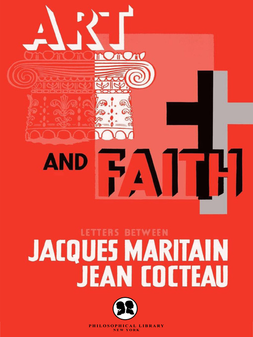 Title details for Art and Faith by Jacques Maritain - Available