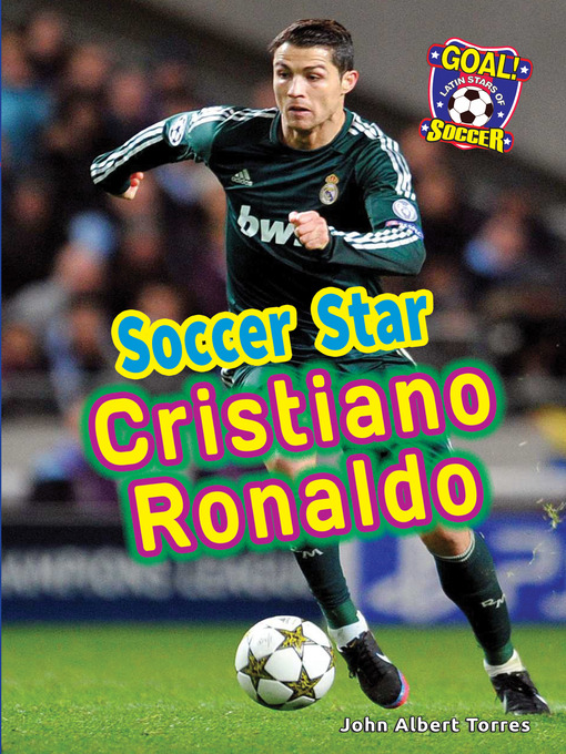 Cover of Soccer Star Cristiano Ronaldo