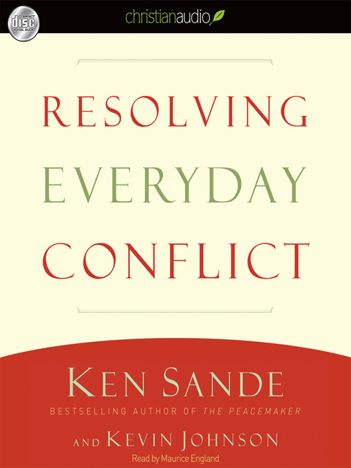 the peacemaker ken sande ebook