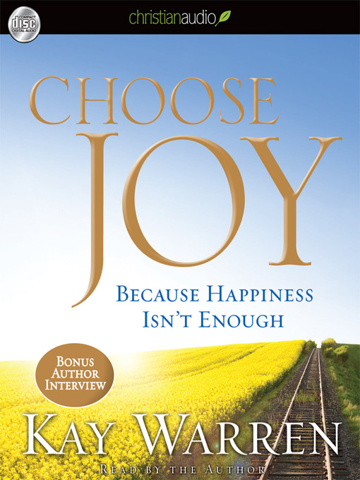 Title details for Choose Joy by Kay Warren - Available