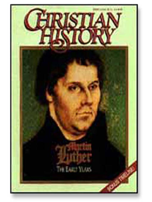 Cover of Martin Luther: The Early Years