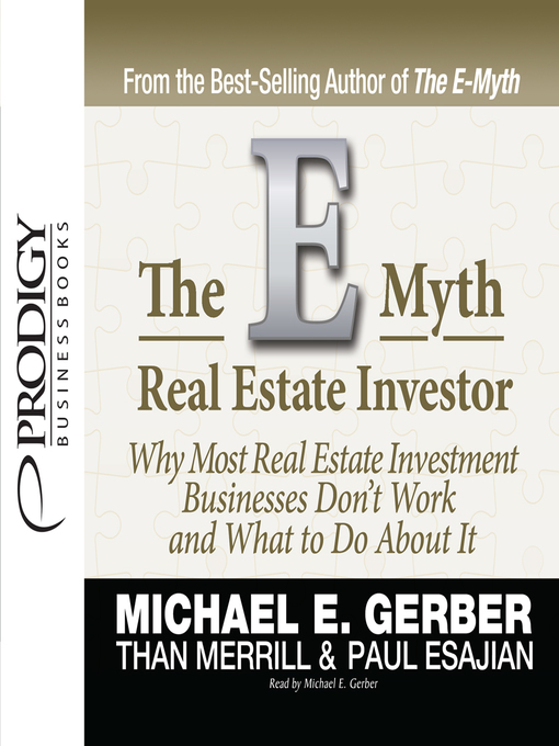 Cover of E-Myth Real Estate Investor