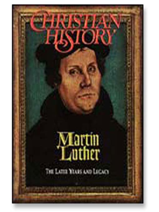 Cover of Martin Luther: The Later Years
