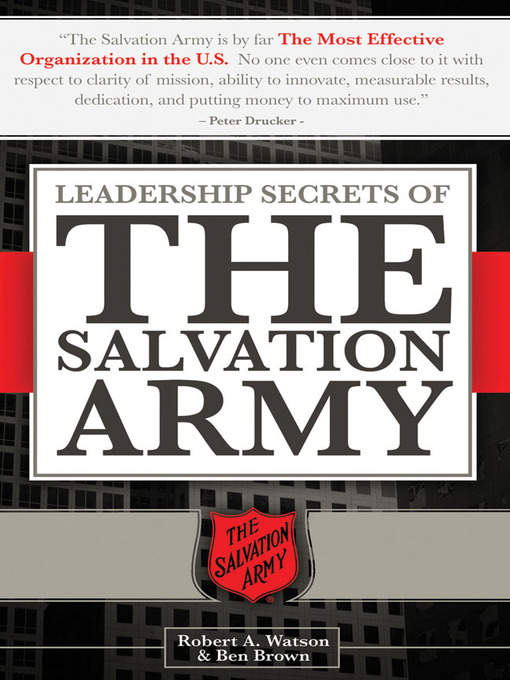 the salvation armys common goal and mission organization in regards to the christian church Church of christ magazine investigating religious doctrine, christian publicized salvation army this is an organization that is to mission work, serving as a.