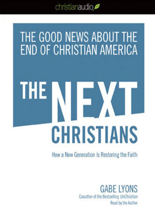 the next christendom The next christendom: the coming of global christianity, by philip jenkins, is the first book on the reading list for culture and mission: social theory for theologians, the two week course i'm attending at san francisco theological seminary published first in 2002, just after the september 11 bombings, the third edition came out in september.