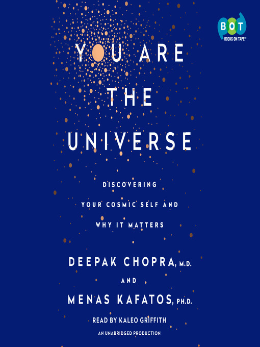 Title details for You Are the Universe by Deepak Chopra, M.D. - Wait list