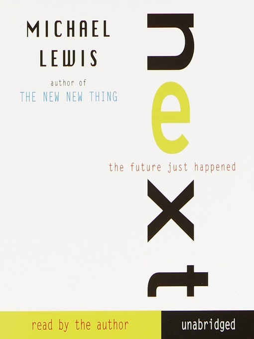 the new thing michael lewis