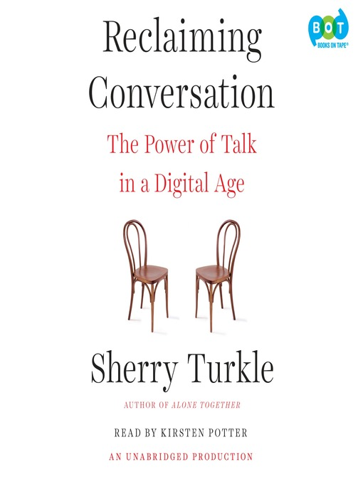 Title details for Reclaiming Conversation by Sherry Turkle - Available