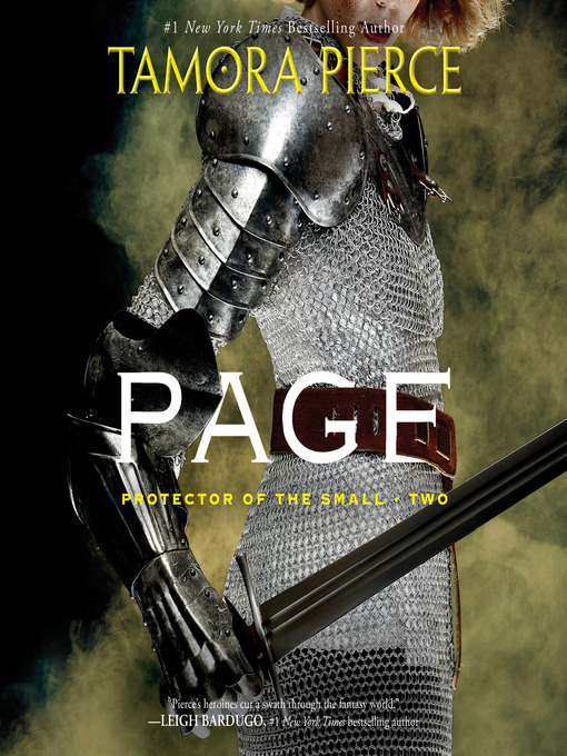 Title details for Page by Tamora Pierce - Available