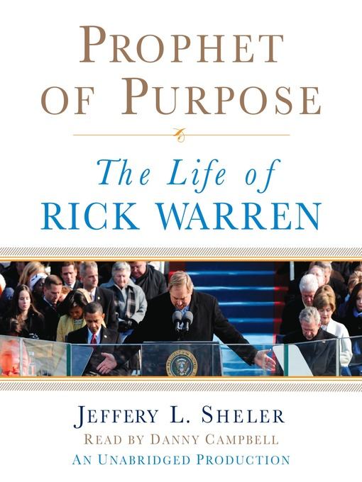 an argument in favor of rick warrens speech on the purpose of life and leadership The author is a forbes contributor this mighty man of the cloth is pastor rick warren a purpose driven life.
