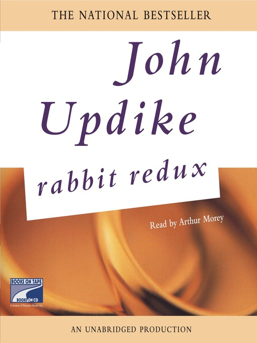 character analysis of harry angstrom in john updikes rabbit run Rabbit is dead, but john updike \o7 swears\f7 it was a mercy killing after all, if a famous literary character wants to load up on junk food, laugh off a heart attack and then die heavily in debt.