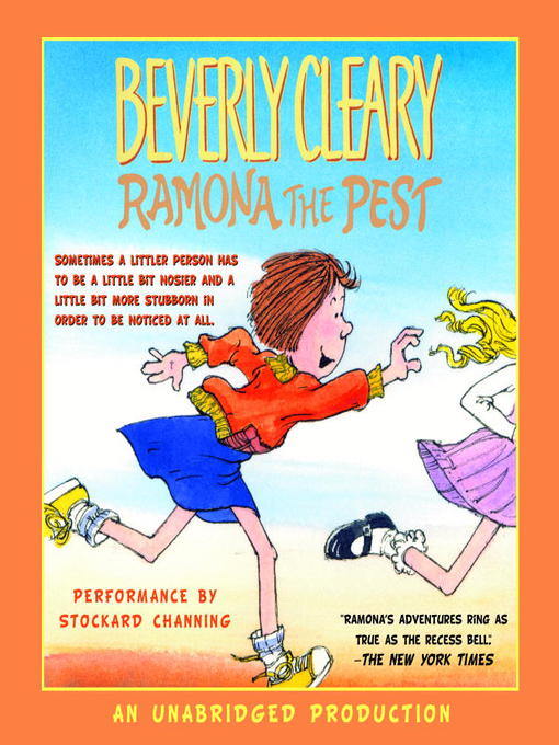 Title details for Ramona the Pest by Beverly Cleary - Wait list