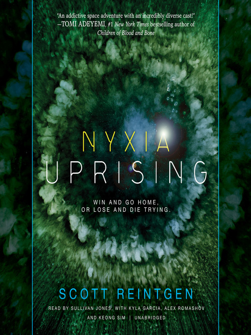 Cover of Nyxia Uprising
