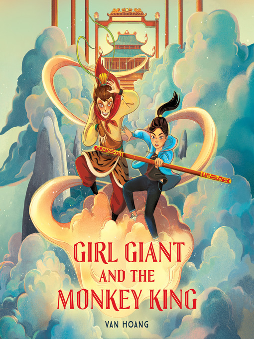 Cover image for Girl Giant and the Monkey King