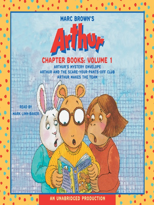 Marc Brown's Arthur Chapter Books, Volume 1