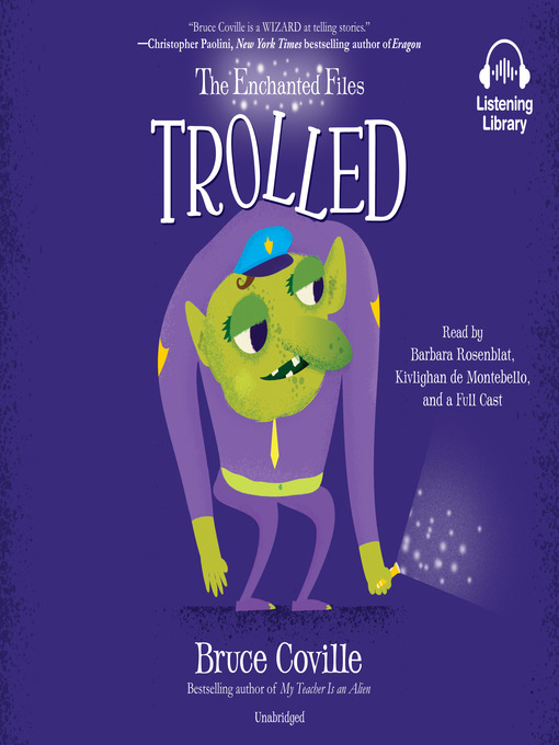 Title details for Trolled by Bruce Coville - Wait list