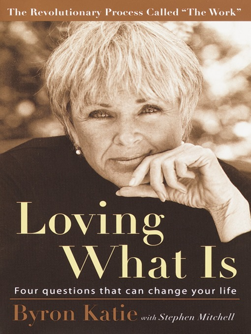 Cover of Loving What Is