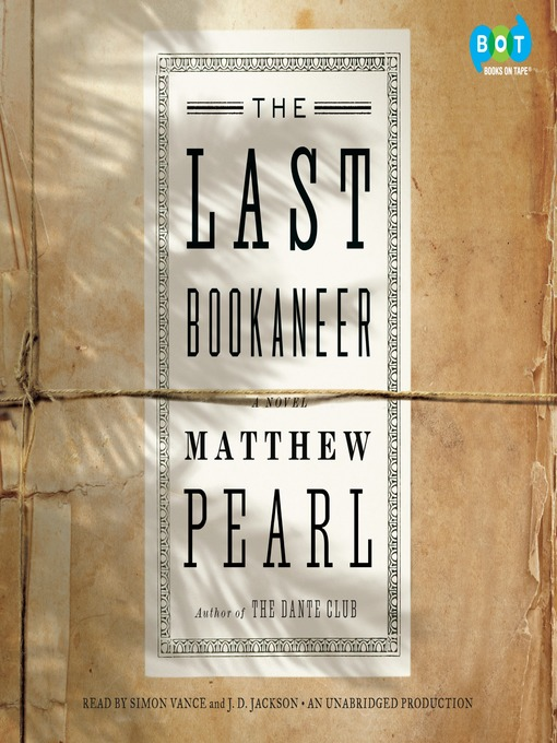 Cover of The Last Bookaneer