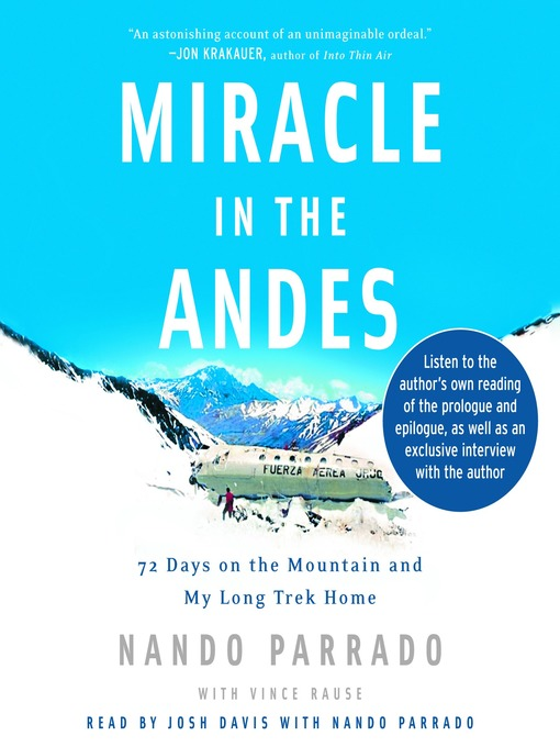 Title details for Miracle in the Andes by Nando Parrado - Available