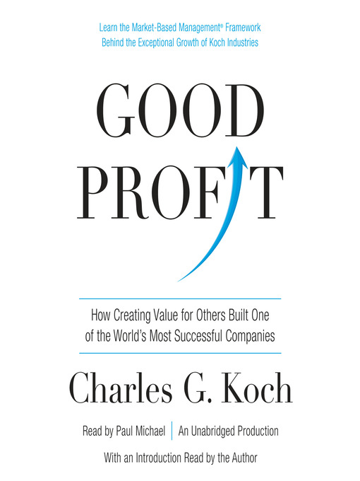 Title details for Good Profit by Charles G. Koch - Available