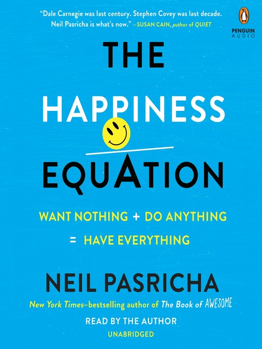 Title details for The Happiness Equation by Neil Pasricha - Available