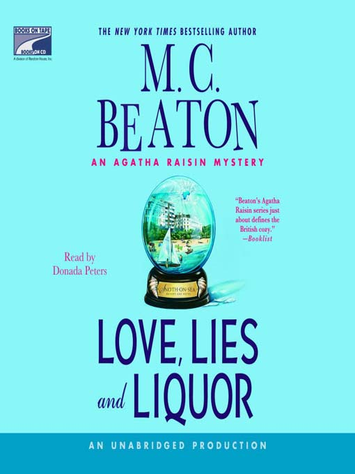 Title details for Love, Lies and Liquor by M.C. Beaton - Available