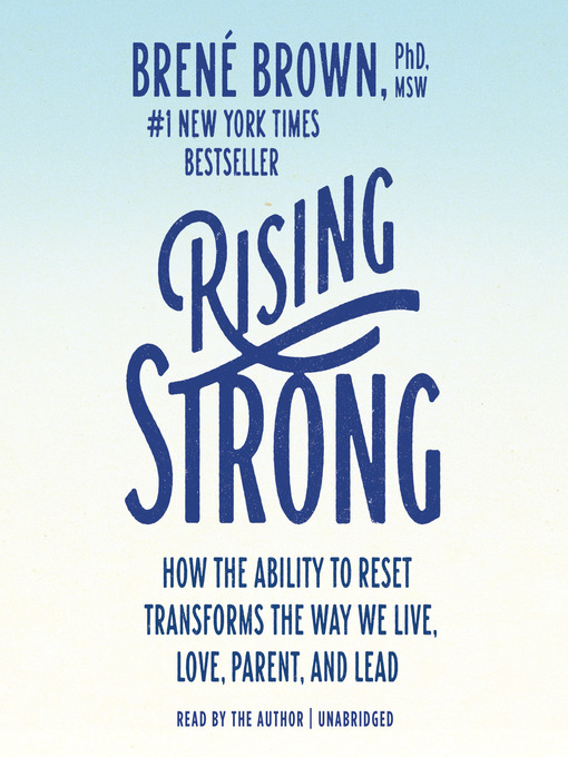 Cover of Rising Strong