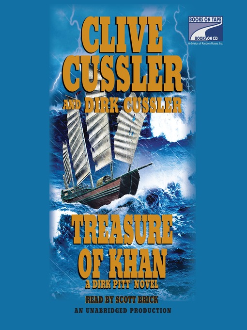 Title details for Treasure of Khan by Clive Cussler - Wait list