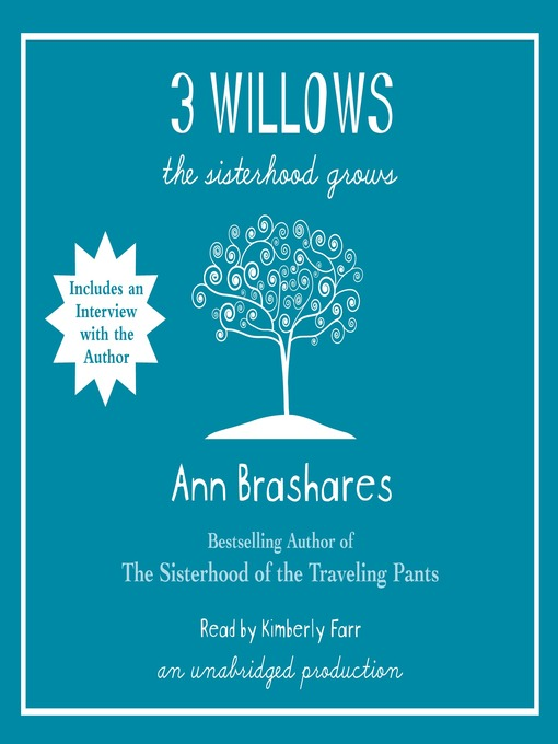 Title details for 3 Willows by Ann Brashares - Available