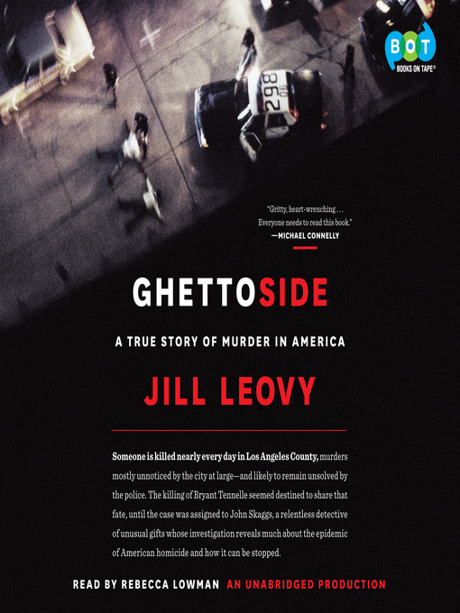 Title details for Ghettoside by Jill Leovy - Wait list