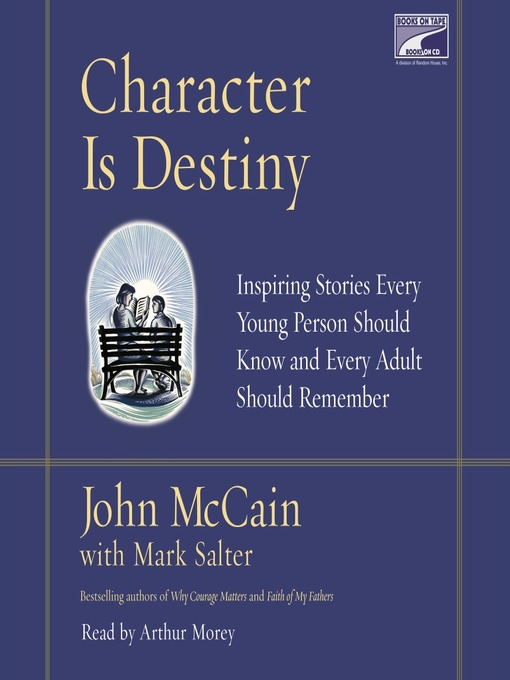 Cover of Character is Destiny