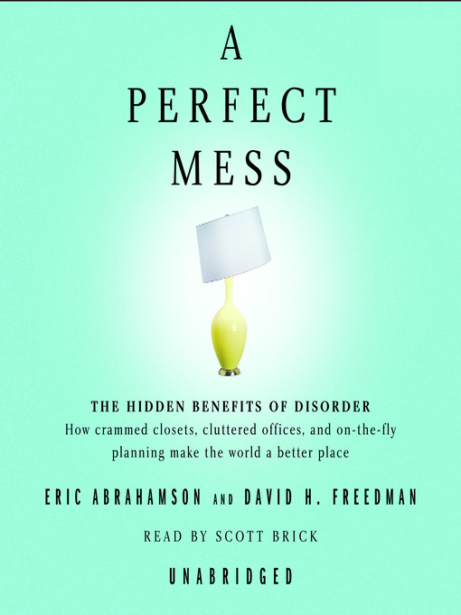Title details for A Perfect Mess by Eric Abrahamson - Wait list