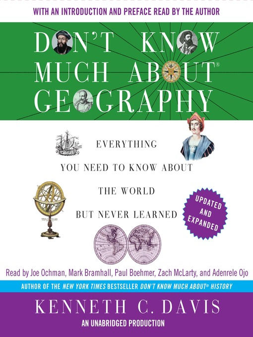 Title details for Don't Know Much About Geography by Kenneth C. Davis - Wait list