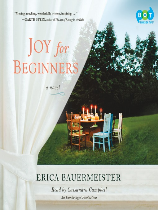 Title details for Joy For Beginners by Erica Bauermeister - Wait list