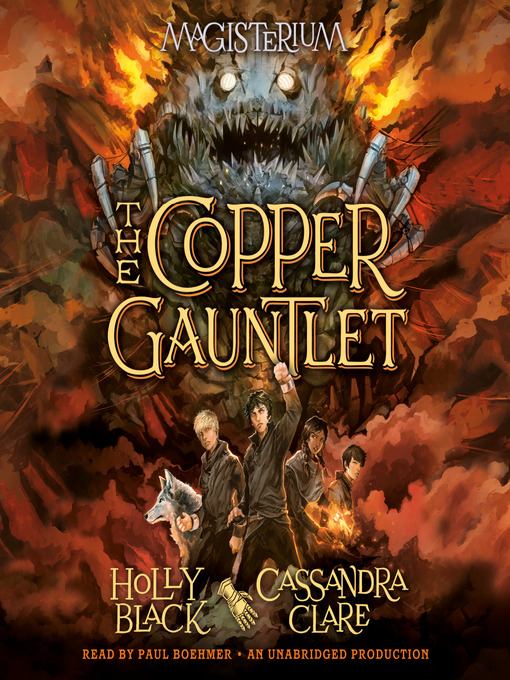 The Copper Gauntlet Magisterium, Book 2