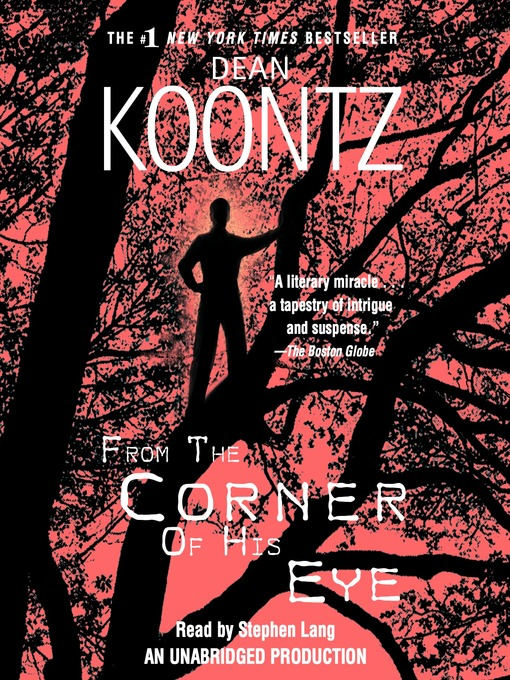 Cover of From the Corner of His Eye