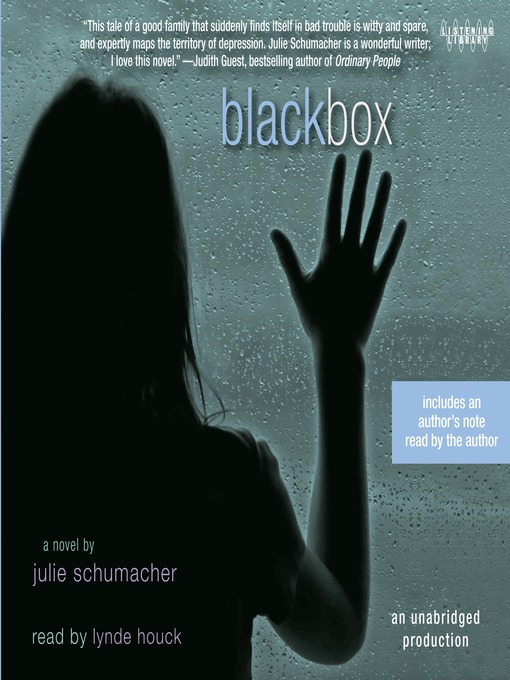 Title details for Black Box by Julie Schumacher - Available