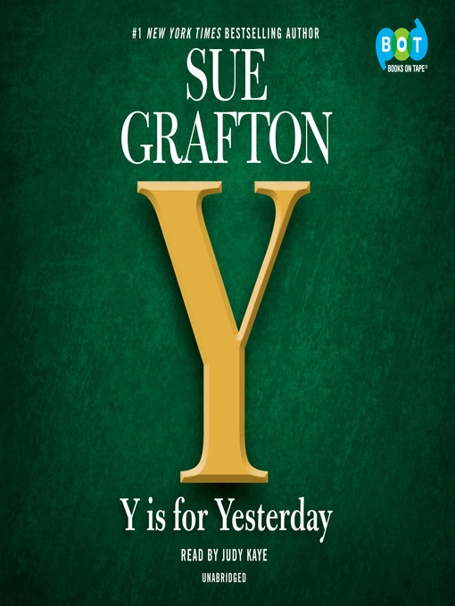 Title details for Y is for Yesterday by Sue Grafton - Wait list