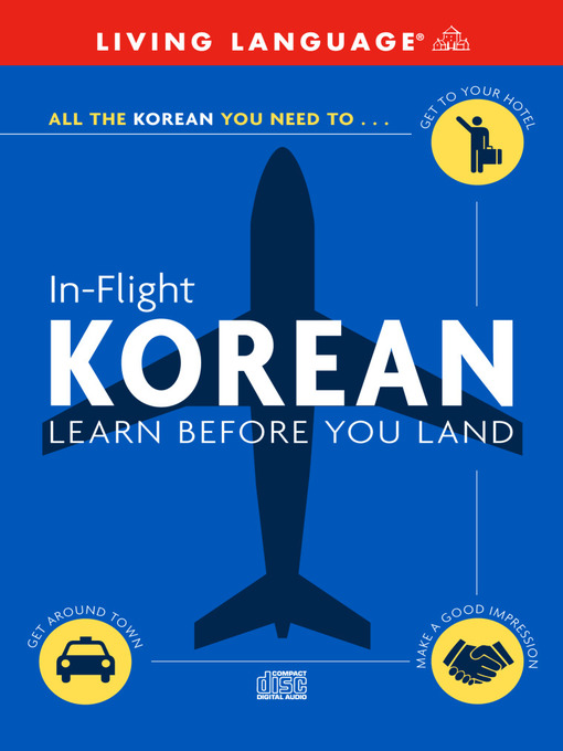 Title details for In-Flight Korean by Living Language - Wait list