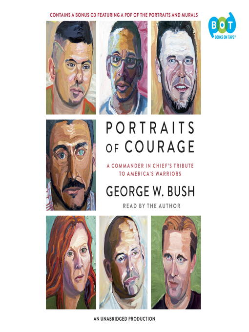 Cover of Portraits of Courage