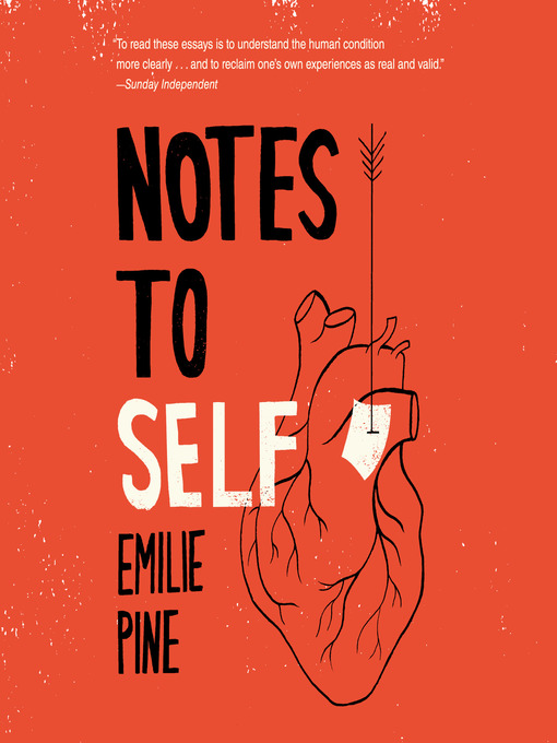 Title details for Notes to Self by Emilie Pine - Wait list