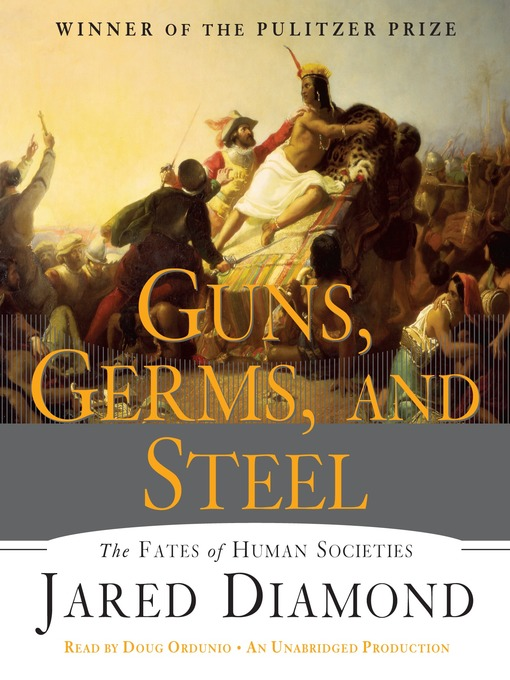 Cover of Guns, Germs, and Steel