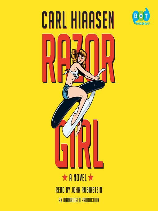 Title details for Razor Girl by Carl Hiaasen - Wait list