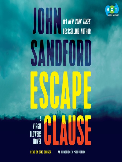 Title details for Escape Clause by John Sandford - Available
