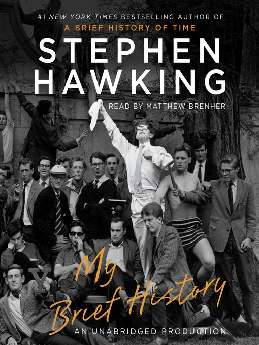 Title details for My Brief History by Stephen Hawking - Wait list