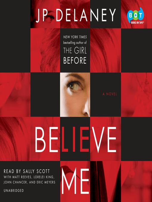 Title details for Believe Me by JP Delaney - Wait list