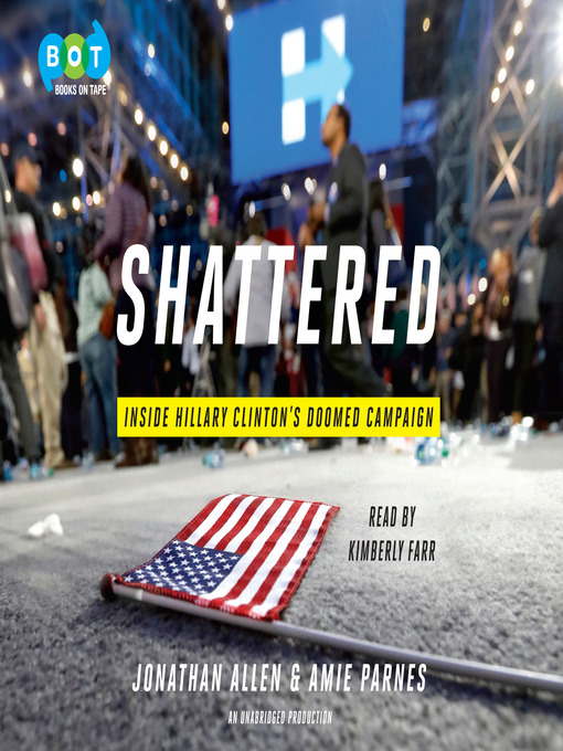 Title details for Shattered by Jonathan Allen - Wait list