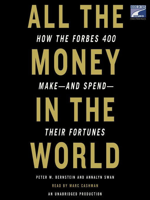 Cover of All the Money in the World