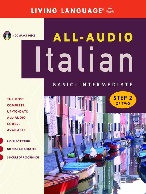 Title details for All-Audio Italian Step 2 by Living Language - Available